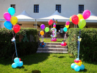 allestimento festa giardino