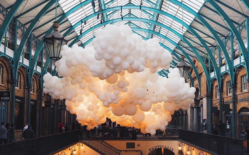 nuvole di palloncini