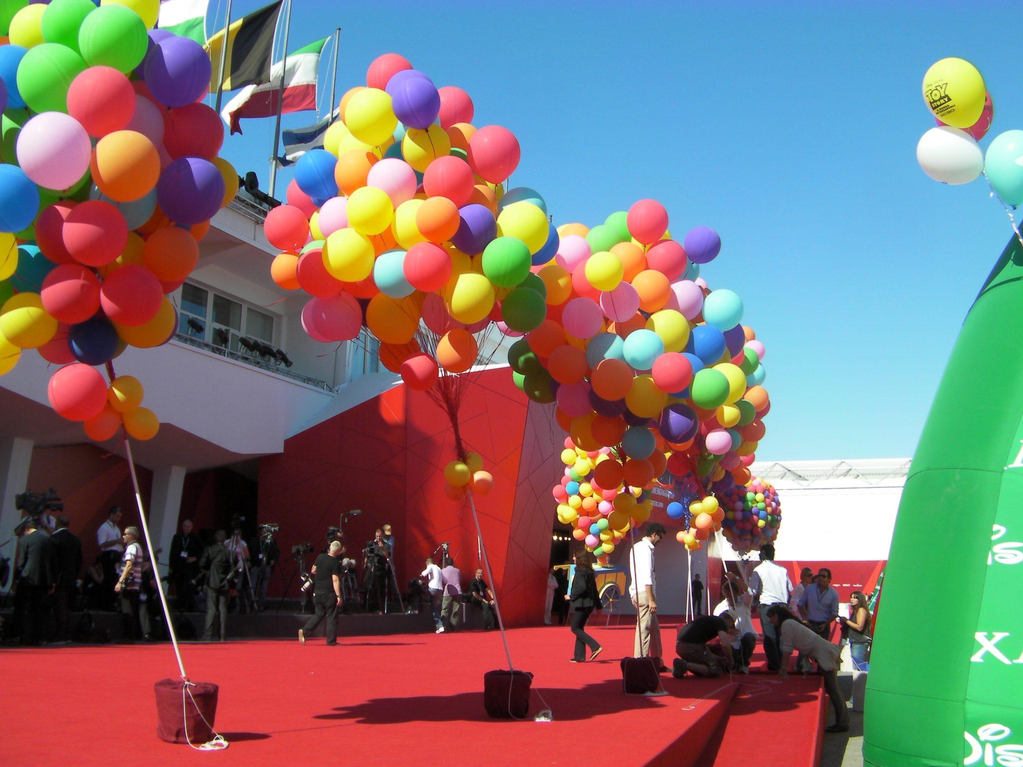 Per UP i palloncini di Partylandia a Venezia