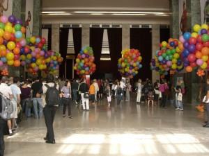 I palloncini alla Mostra del Cinema di Venezia
