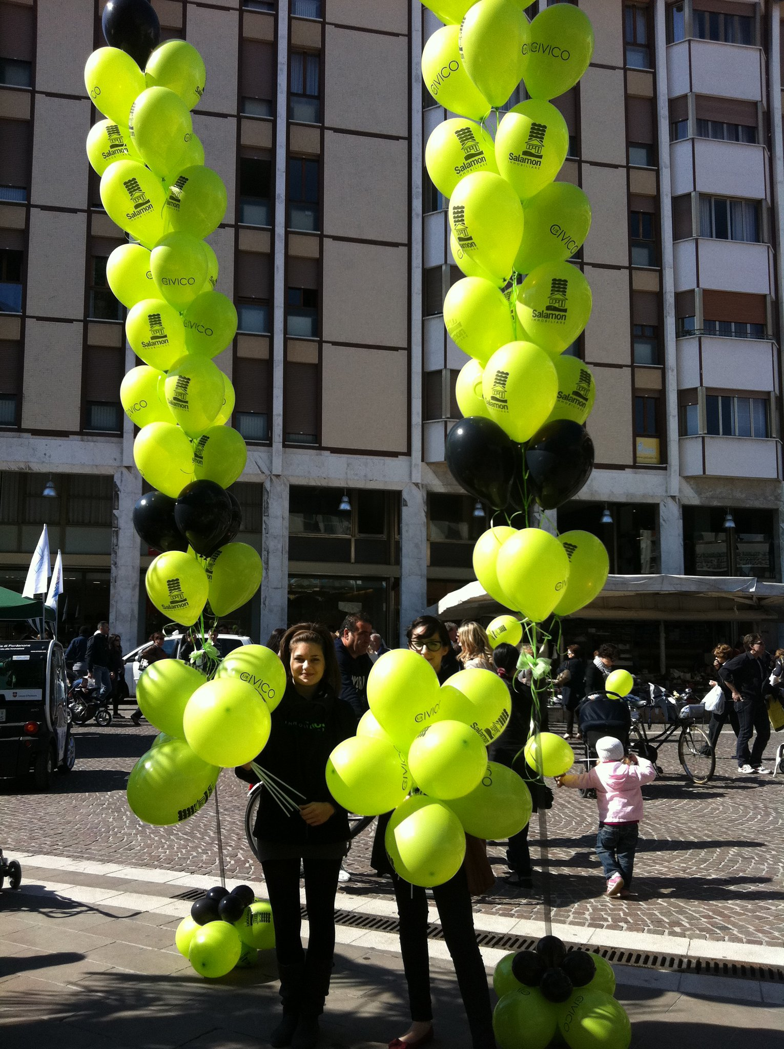 Guerrilla Marketing per Salamon Immobiliare a Pordenone