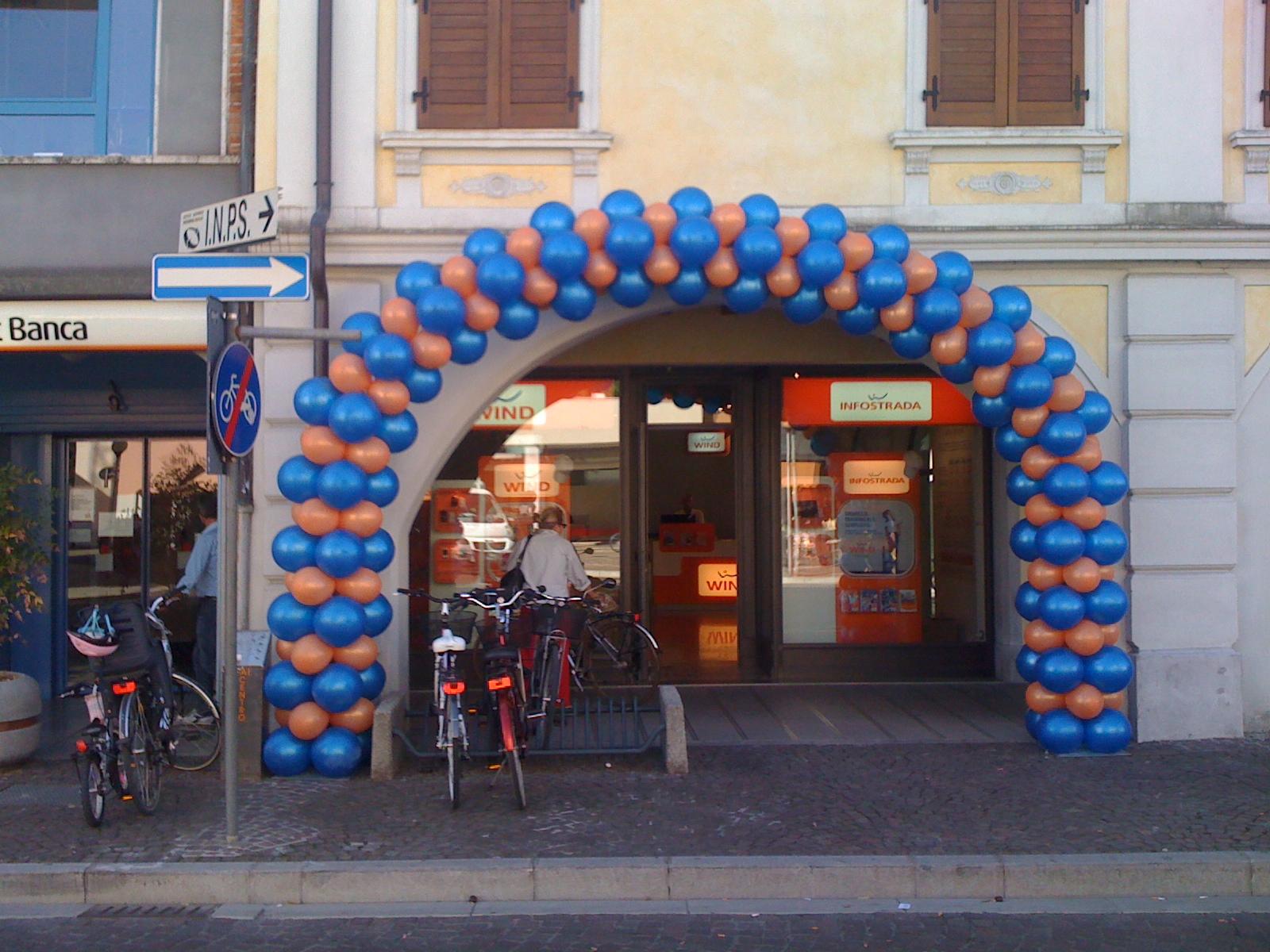 Inaugurazione negozio WIND a Codroipo