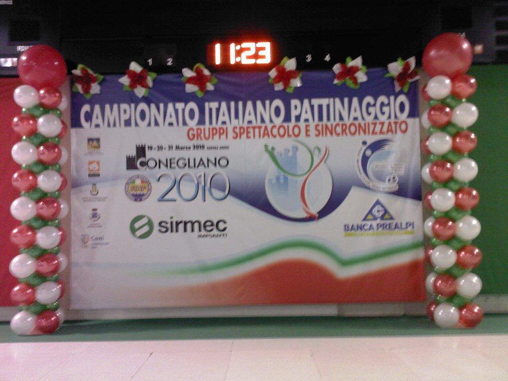 Palloncini e sport: campionato Pattinaggio Artistico, Conegliano (Treviso)