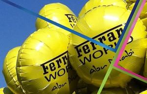 palloncini ferrari gialli