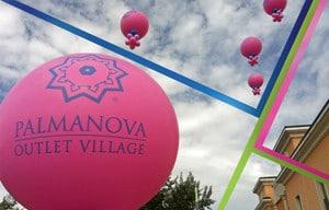 palloni giganti rosa personalizzati