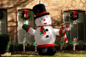 Christmas Inflatable Yard Decorations