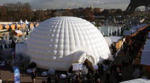 igloo gonfiabile gigante