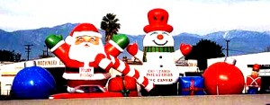 inflatable christmas props