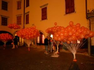 guerrilla marketing palloncini