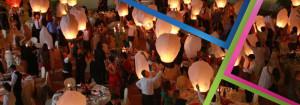 lanterne volant con Partylandia
