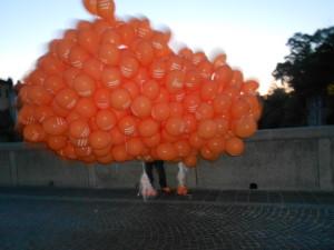 palloncini allestimento