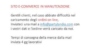sito e commerce