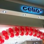 palloncini brandizzati, arco di palloncini bianchi e rossi
