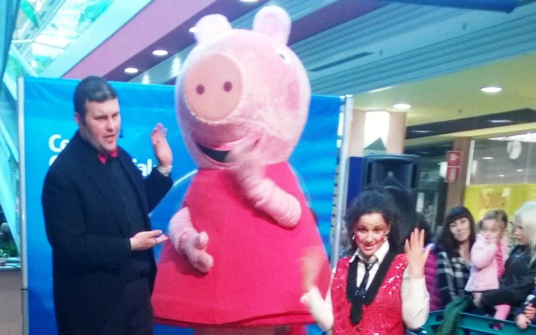 Grande animazione con Peppa Pig al Centro Commerciale Friuli