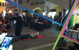 spettacolo in piazza
