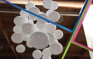 allestimenti per fiere palloncini