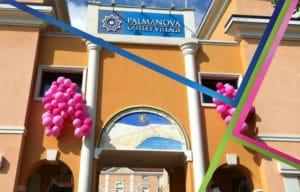 allestimento centro commerciale palloncini