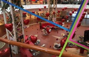 cuori san valentino centro commerciale