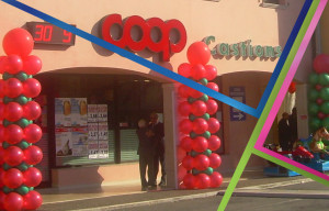 inaugurazione supermercato