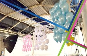 palloncini per set fotografico