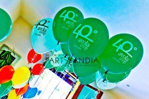 palloncini personalizzati gonfiabli per festa aziendale