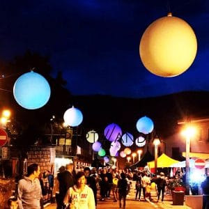 palloni giganti per manifestazioni