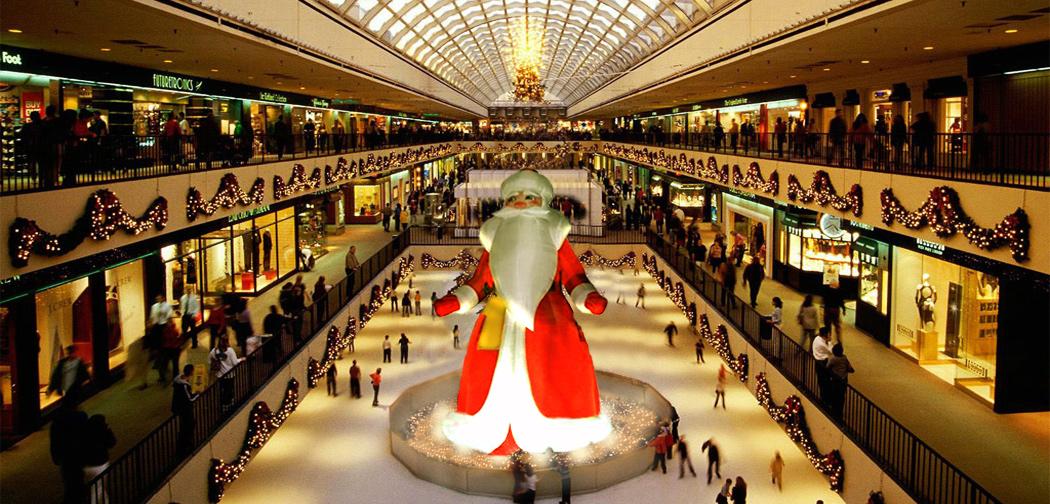 Babbo Natale gonfiabile Infinito