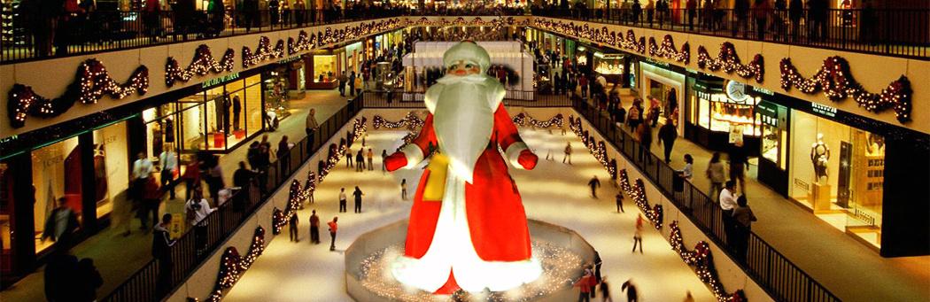 Babbo Natale gonfiabile Infinito e