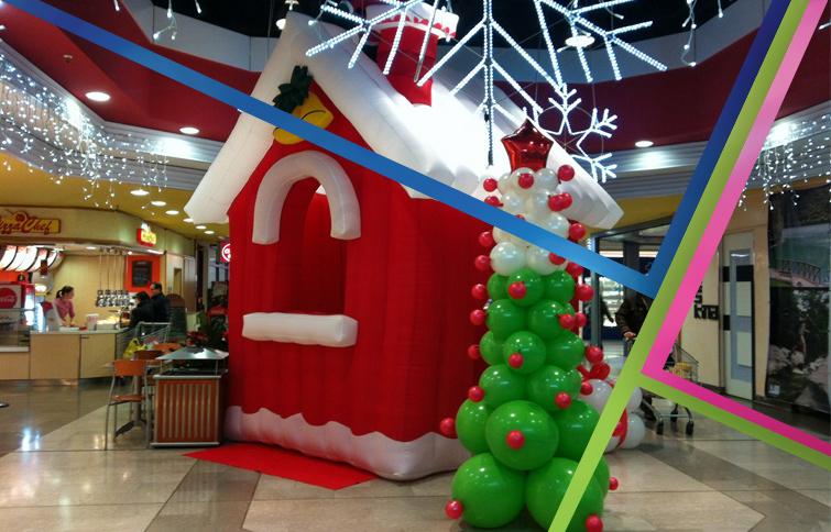 Casetta Di Natale Gonfiabile : Casetta gonfiabile di natale54b532f854d9d.jpg partylandia