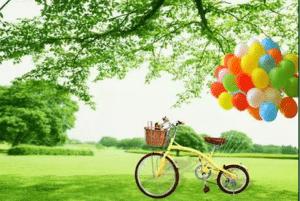palloncini ecologici e biodegradabili