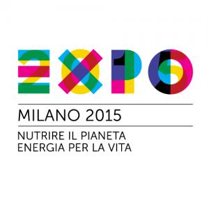 scenografie per stand fieristici, logo EXPO di milano
