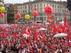 palloni per manifestazioni sidacali