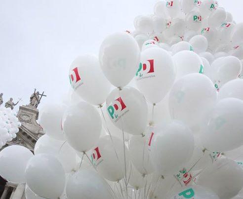 Palloncini e allestimenti per elezioni