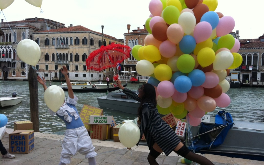 Eventi esclusivi: il Palloncino diventa arte alla Biennale di Venezia