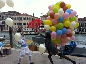 eventi esclusivi, il palloncino diventa arte