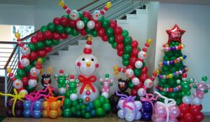 Allestimenti feste aziendali per evento aziendale natalizio
