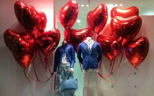 le più belle vetrine di san valentino