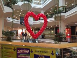 cuore di palloncini