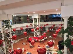 allestimento personalizzato per s.valentino