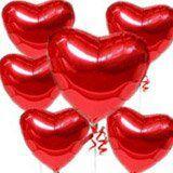cuori san valentino palloncini