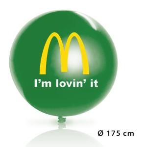 palloncini personalizzati con stampa del logo