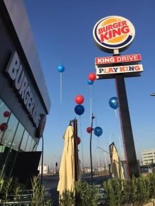 palloni giganti ad elio inaugurazione