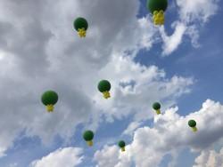 palloni giganti ad elio
