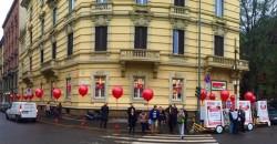 palloni giganti per inaugurare