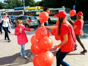 palloncini pubblicità