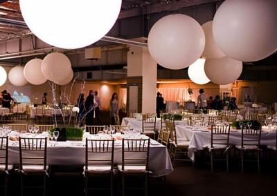 pallone gigante decorativo