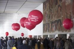palloni giganti personalizzati allestimento receprion