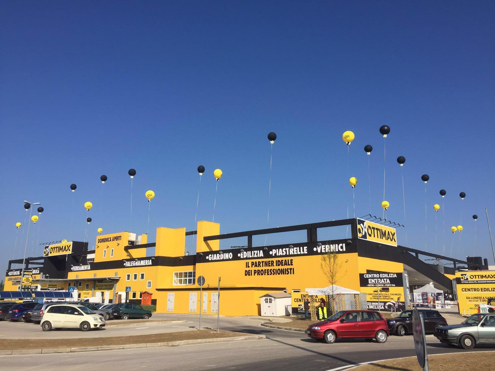 palloni giganti per inaugurazioni