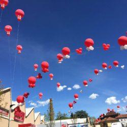 archi di palloni giganti ad elio