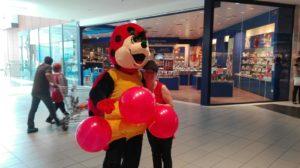 punchball personalizzati e mascotte